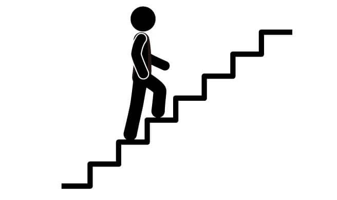 portaiden kävelystä hyötyliikuntaa terveyden parantamiseksi