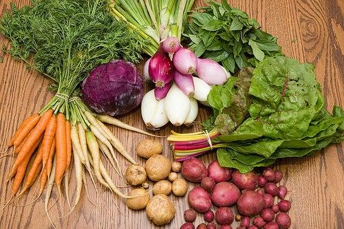 vältä närästys syömällä kasviksia