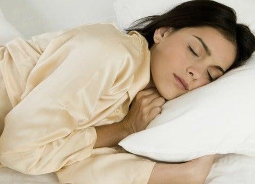 Nuku hyvin pitkän päivän jälkeen