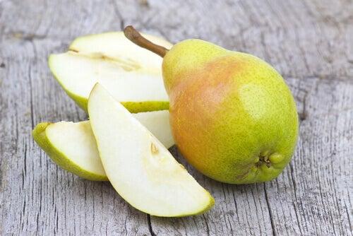 Miksi on tärkeää syödä päärynä päivässä