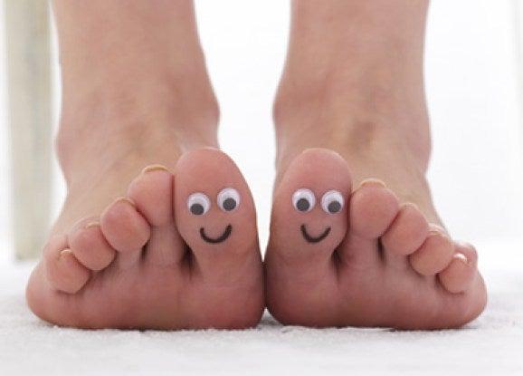 hyvinvoivat jalat