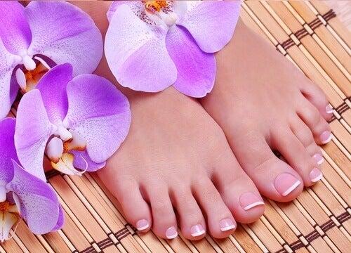 Kauniit ja terveet jalkaterät