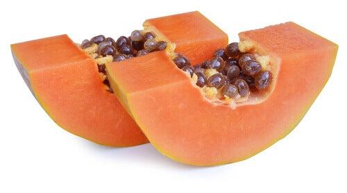 papaija hoitaa ilmavaivoja