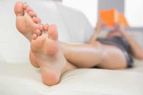 Pahanhajuiset jalat - eroon ikävistä tuoksuista