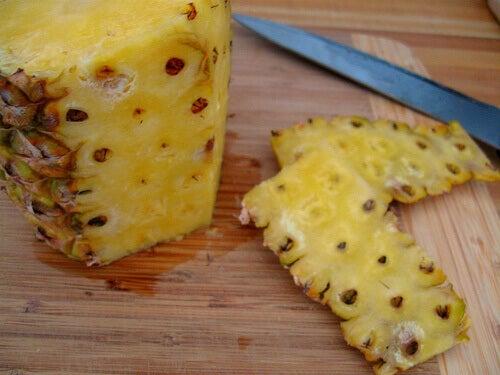 Ananas-kuori