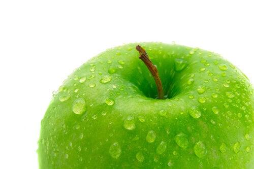 vihreä omena
