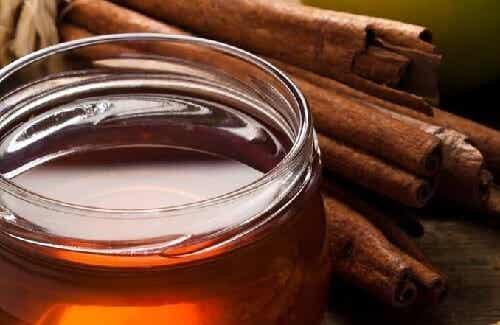 Hyödyt päivittäisestä teelusikallisesta kanelia ja hunajaa