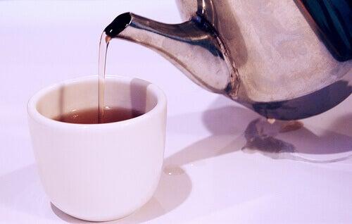 vähennä 500 kaloria päivässä juomalla sokeritonta teetä