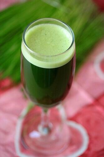 vihreä-smoothie