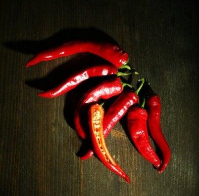 Chili kiihdyttää aineenvaihduntaa.