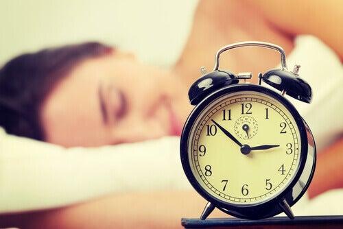 unenpuutteesta johtuvat ongelmat