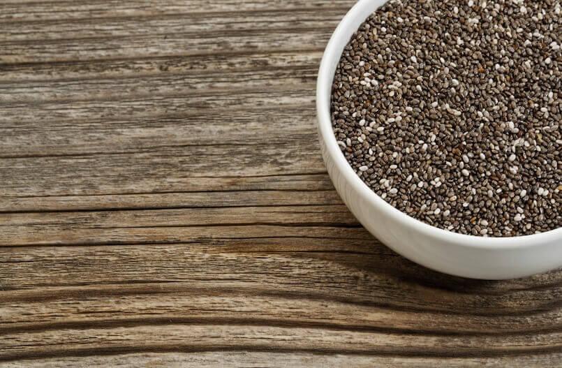 Chia- siemenet ovat tehokas apu painonpudotuksessa.
