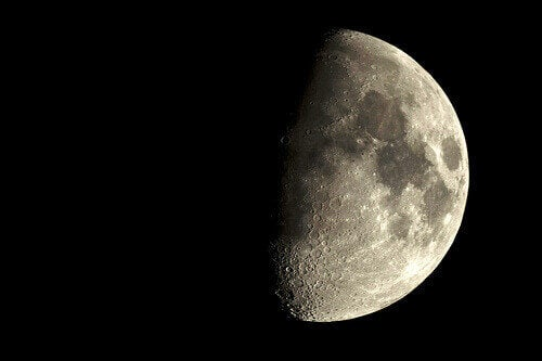 Kuu vaikuttaa ihmisen hyvinvointiin.