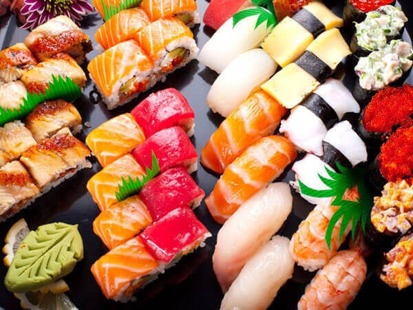 8 ruokaa: sushi