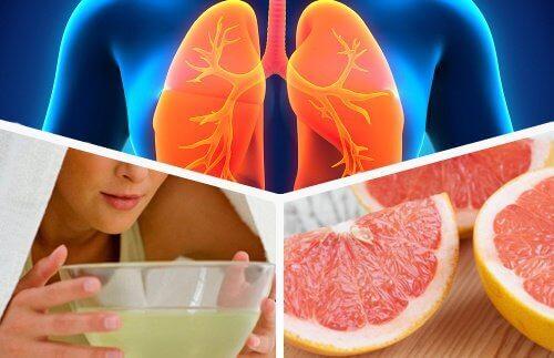 Puhdista keuhkot syömällä oikein