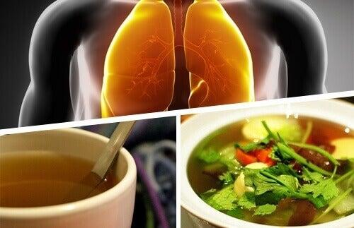 Eroon keuhkoihin kertyneestä limasta