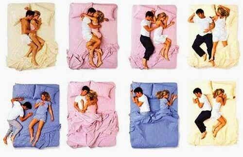 Mitä nukkuma-asento kertoo parisuhteesta?