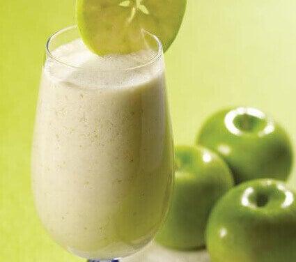 Kolme aamupalaideaa vatsamakkaroiden karkoitukseen - vihreä omena.