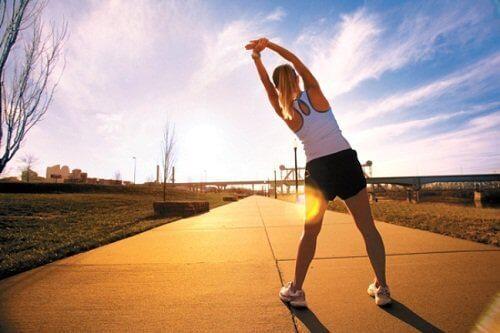 liikunta auttaa parantamaan vastustuskykyä