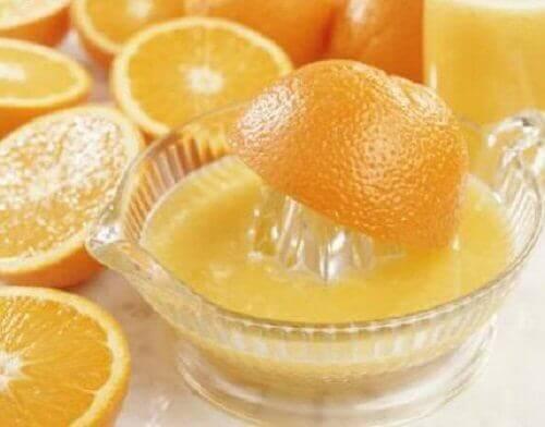 Appelsiinimehu ja flunssa