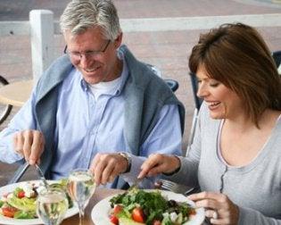 painonpudotusvinkit yli nelikymppisille: terveellinen ruokavalio