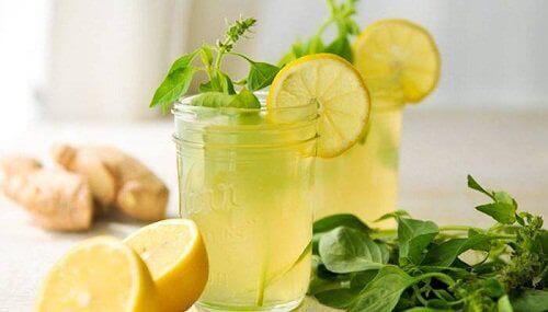 Sitruuna-inkiväärijuoma