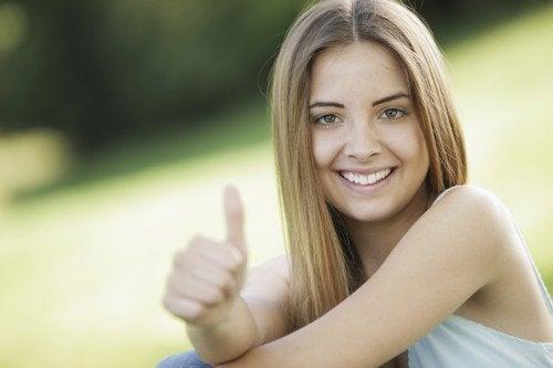 Positiivinen tyttö