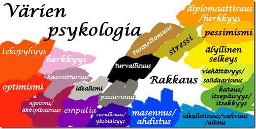 värien psykologia