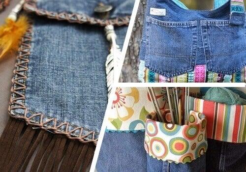 9 tapaa hyödyntää vanhoja farkkuja