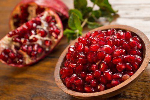 parhaat siemenet: granaattiomena