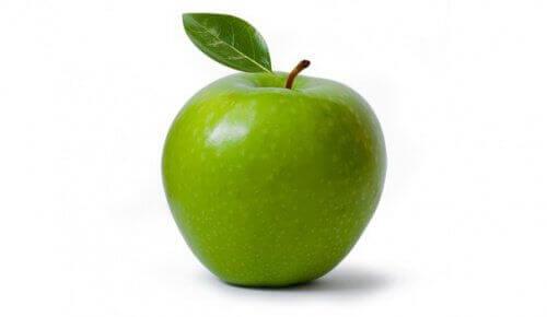 Vihreä omena raakaravinto