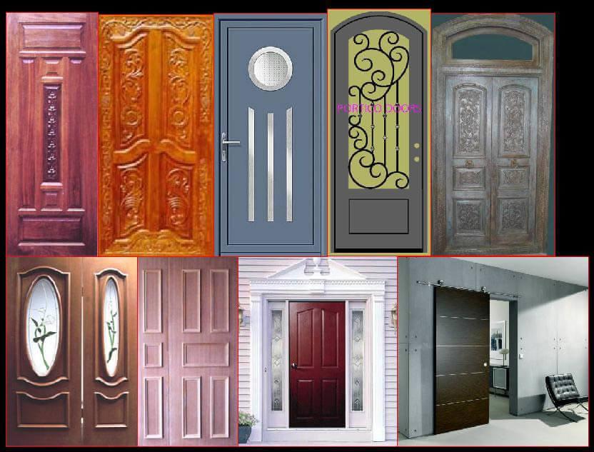 Erilaiset ovet