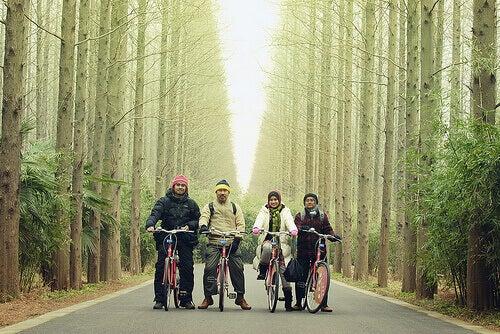 Pyöräilevä porukka