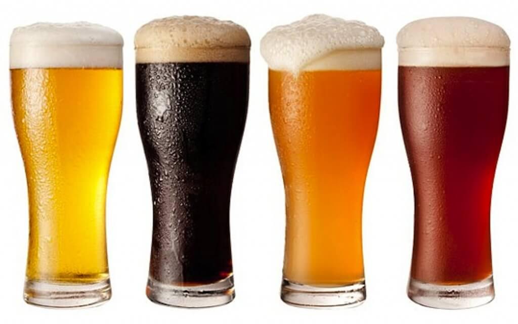 Erilaiset oluet
