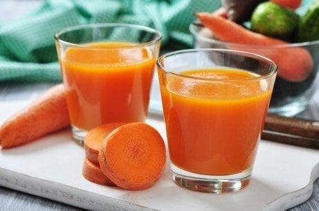 Nauti porkkanaa illallisella.