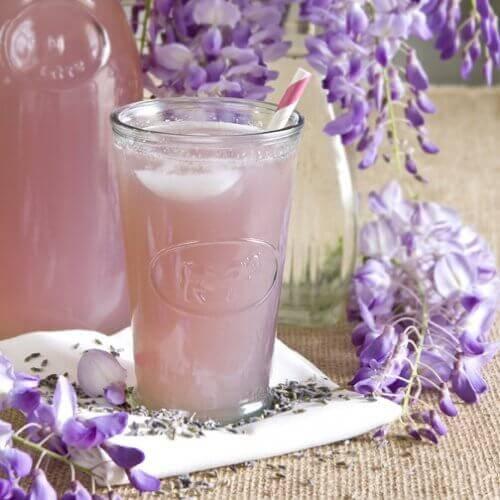 Teeuute laventelista ja salviasta