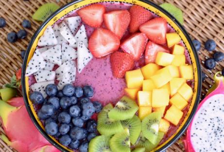 Muista syödä mahdollisimman värikästä ruokaa.