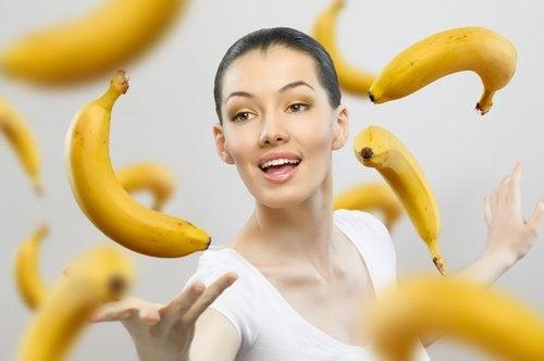 Banaani kannattaa nauttia kypsänä tai ylikypsänä