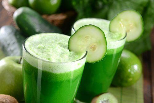 Vihreä smoothie