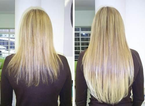 Pidemmät hiukset öljyhoidoilla