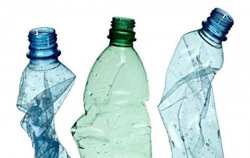 Muovipullot voivat johtaa kilpirauhasongelmiin