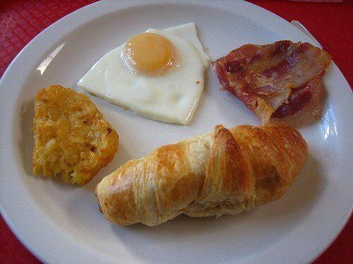 Munasarjoille epäterveellinen aamiainen