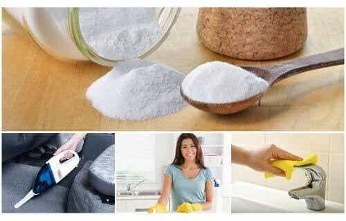 6 loistavaa käyttöä ruokasoodalle