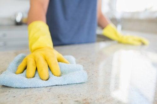 keittiön siivousvinkit