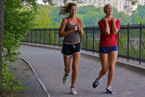 Tulehdus voi iskeä juostessa