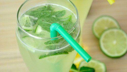 Vitamiinivesi limestä