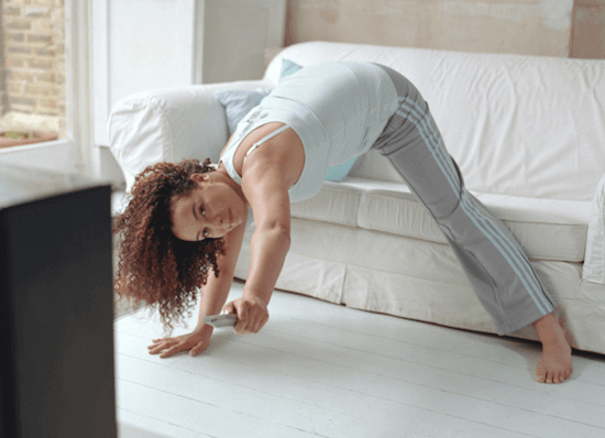 Liikuntaa kotona