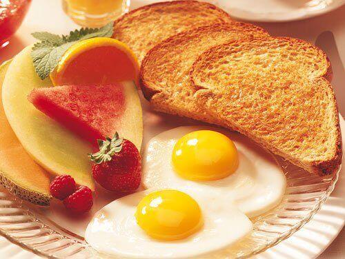 Monipuolinen aamiainen