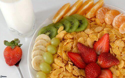 Rasvamaksan hoito aamiaisella