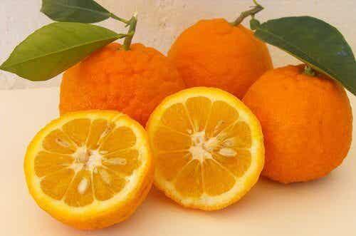 Laihdu appelsiinidieetillä